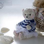 Куклы и игрушки ручной работы. Ярмарка Мастеров - ручная работа Мишка Тедди Арина-Балерина. Handmade.