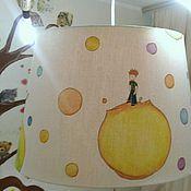 """Для дома и интерьера ручной работы. Ярмарка Мастеров - ручная работа Абажур подвесной """"Маленький принц"""". Handmade."""