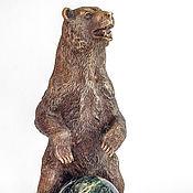Для дома и интерьера ручной работы. Ярмарка Мастеров - ручная работа Медведь с шаром. Handmade.