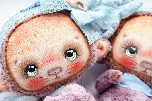Коллекционные куклы ручной работы. Ярмарка Мастеров - ручная работа. Купить Плюшик. Handmade. Коричневый, кукла ручной работы, обезьяна