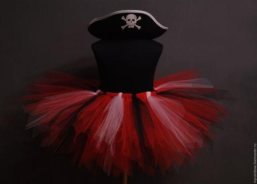 Детские карнавальные костюмы ручной работы. Ярмарка Мастеров - ручная работа. Купить Костюм озорная пиратка. Handmade. Комбинированный
