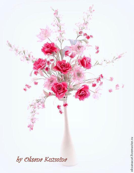 """Букеты ручной работы. Ярмарка Мастеров - ручная работа. Купить Букет """"Так должно выглядеть счастье"""". Handmade. Букет, розовый"""