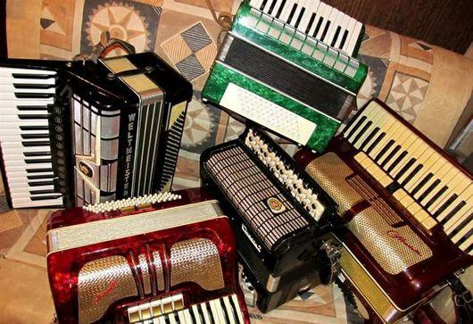 Духовые инструменты ручной работы. Ярмарка Мастеров - ручная работа. Купить Ремонт баянов, аккордеонов и гармоней. Handmade. Ремонт, баян