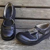 Обувь ручной работы. Ярмарка Мастеров - ручная работа Кожаные туфли Сэкондхэнд. Handmade.