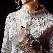 Одежда ручной работы. Ярмарка Мастеров - ручная работа Жакет  из шерсти Зефир. Handmade.