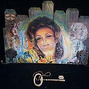 Для дома и интерьера handmade. Livemaster - original item The housekeeper is a wall in the mudroom, Dreams,,. Handmade.