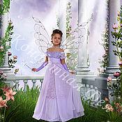 Фото ручной работы. Ярмарка Мастеров - ручная работа Фотомонтаж Сиреневая фея. Handmade.