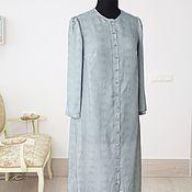 Одежда ручной работы. Ярмарка Мастеров - ручная работа Свободное платье в горошек. Handmade.