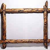 Для дома и интерьера ручной работы. Ярмарка Мастеров - ручная работа Деревянная  рама состаренная. Handmade.