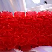 """Сумки и аксессуары ручной работы. Ярмарка Мастеров - ручная работа Вечерняя сумочка """"Красное облако"""". Handmade."""