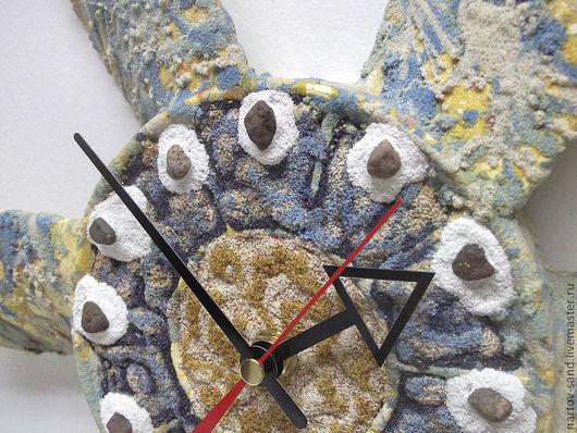 """Часы для дома ручной работы. Ярмарка Мастеров - ручная работа. Купить """"НОВАЯ ЖИЗНЬ"""" из песка часы авторские. Handmade."""
