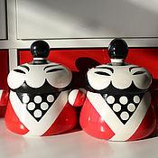 Посуда ручной работы. Ярмарка Мастеров - ручная работа Мистер Чи ёмкость для чая. Handmade.