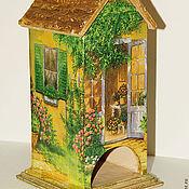 Для дома и интерьера ручной работы. Ярмарка Мастеров - ручная работа Солнечный чайный домик. Handmade.