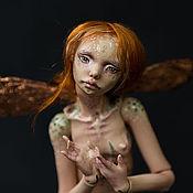 Куклы и игрушки ручной работы. Ярмарка Мастеров - ручная работа Элька, фарфоровая шарнирная кукла. Handmade.