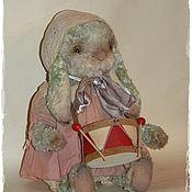 Куклы и игрушки ручной работы. Ярмарка Мастеров - ручная работа Мятная крольчишка. Handmade.