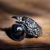 Украшения ручной работы. Ярмарка Мастеров - ручная работа Кольцо «Corvus corax». Handmade.