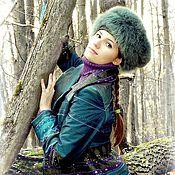 Одежда ручной работы. Ярмарка Мастеров - ручная работа куртка из жаккарда и брюки-зима 2012. Handmade.