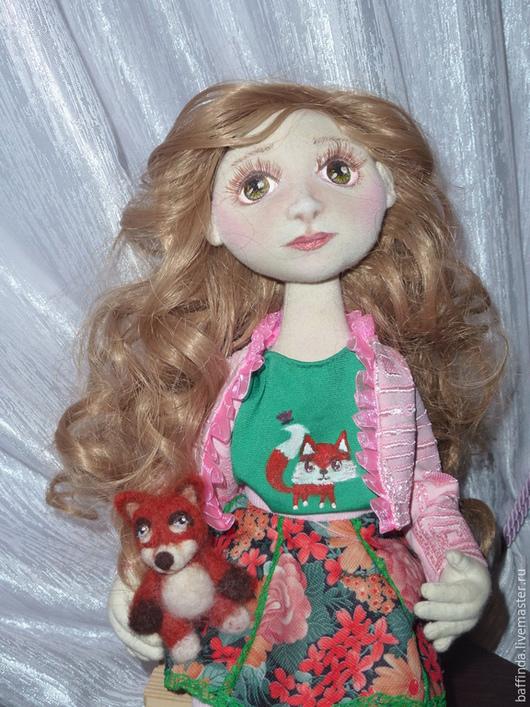 Коллекционные куклы ручной работы. Ярмарка Мастеров - ручная работа. Купить Текстильная куклаТанюшка. Handmade. Текстильная кукла, кукла из ткани