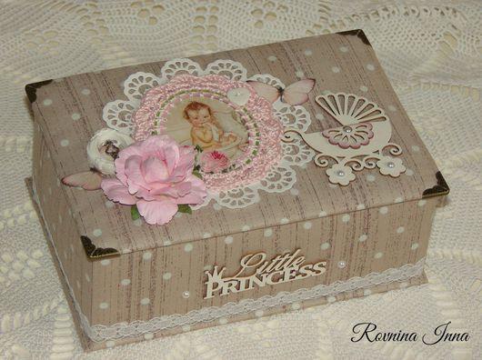 """Подарки для новорожденных, ручной работы. Ярмарка Мастеров - ручная работа. Купить Мамины сокровища """"Little Princess"""". Handmade. подарок на выписку"""