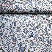 Материалы для творчества handmade. Livemaster - original item China cotton satin Provence flowers herbarium patchwork. Handmade.