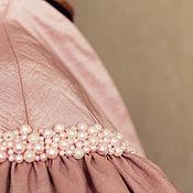 """Одежда ручной работы. Ярмарка Мастеров - ручная работа Болеро """"Розовый жемчуг"""". Handmade."""