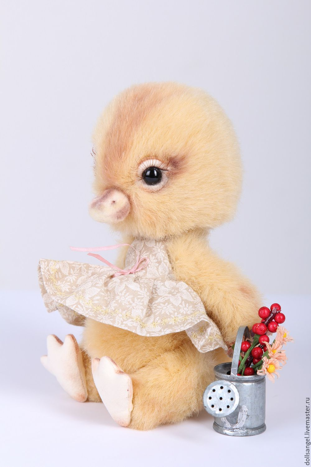 DUCK Teddy machinery-art-collectible dolls-handmade doll, Stuffed Toys, Kiev,  Фото №1