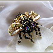 """Украшения ручной работы. Ярмарка Мастеров - ручная работа """"Bee"""" Брошь. Handmade."""