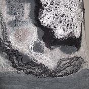 Одежда ручной работы. Ярмарка Мастеров - ручная работа Валяный топ туника Туманный рассвет. Handmade.