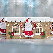 Открытки handmade. Livemaster - original item gift envelopes: Santa Claus!. Handmade.
