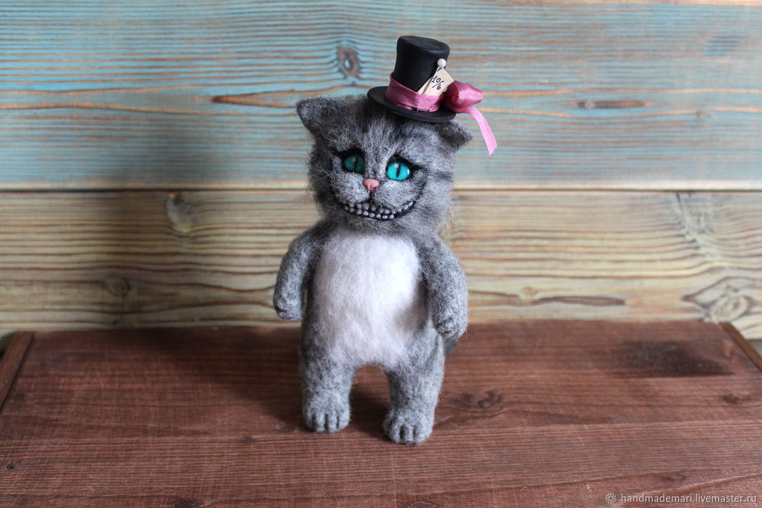 Cheshire cat from Alice in Wonderland Toy, Stuffed Toys, Moscow,  Фото №1