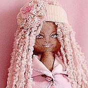 Куклы и игрушки ручной работы. Ярмарка Мастеров - ручная работа Розовая кукла. Handmade.