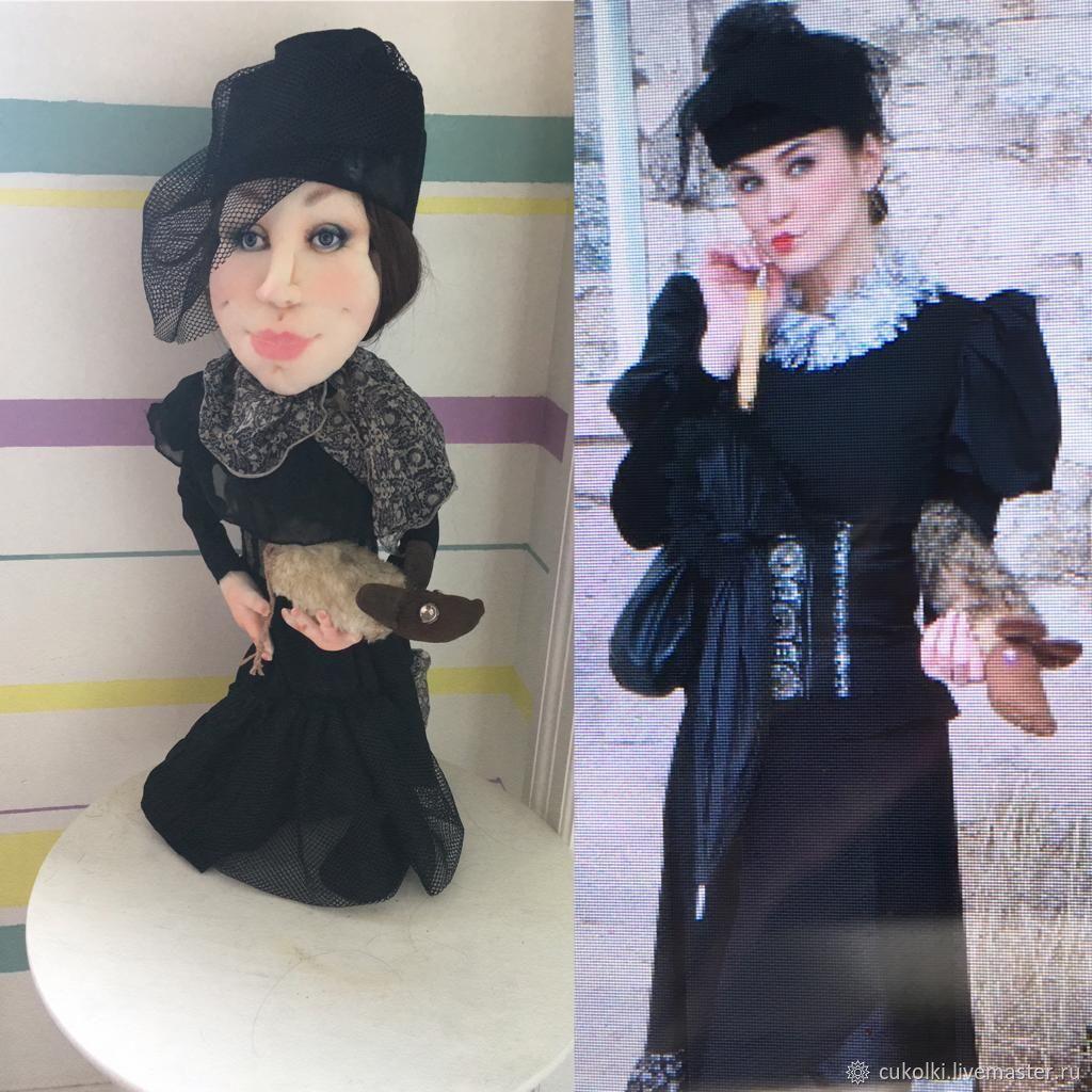 Портретно-шаржевая  кукла, Портретная кукла, Москва,  Фото №1