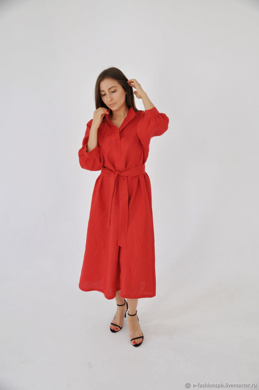 Dress shirt red, Dresses, St. Petersburg,  Фото №1