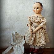 Куклы и игрушки ручной работы. Ярмарка Мастеров - ручная работа Лара. Репродукция кукол Izannah Walker.. Handmade.