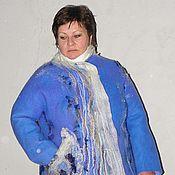 """Одежда ручной работы. Ярмарка Мастеров - ручная работа Пальто """"ТИХАЯ РЕКА"""". Handmade."""