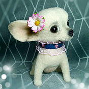 Куклы и игрушки handmade. Livemaster - original item Chihuahua Princess. The puppy felt. Handmade.