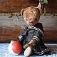 """Мишки Тедди ручной работы. Ярмарка Мастеров - ручная работа. Купить Миша """" Старшая Подружка..."""". Handmade. Коричневый"""