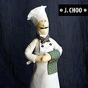 Куклы и игрушки ручной работы. Ярмарка Мастеров - ручная работа Поваренок. Handmade.