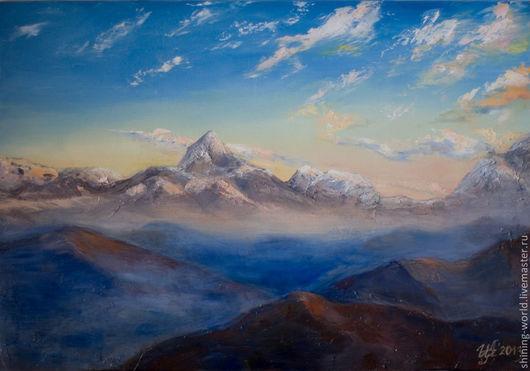 "Пейзаж ""Горы. Тишина"", 2013"