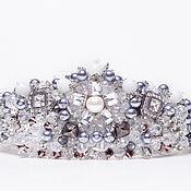 Свадебный салон ручной работы. Ярмарка Мастеров - ручная работа Корона  Silver Queen. Handmade.