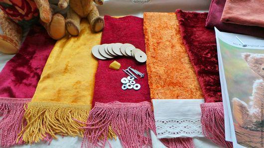 Куклы и игрушки ручной работы. Ярмарка Мастеров - ручная работа. Купить Наборы для шитья мишек Тедди-30 см, винтажный плюш. Handmade.