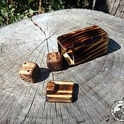 Куклы и игрушки handmade. Livemaster - original item Box with wooden cubes. Handmade.