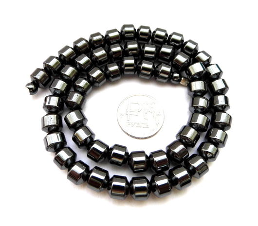 Для украшений ручной работы. Ярмарка Мастеров - ручная работа. Купить Гематит 56 камней набор бусины черные глянцевые фигурные. Handmade.