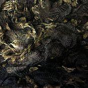 Материалы для творчества handmade. Livemaster - original item Fleece Parental Chocolate and beige. 50 grams. New Zealand. Handmade.