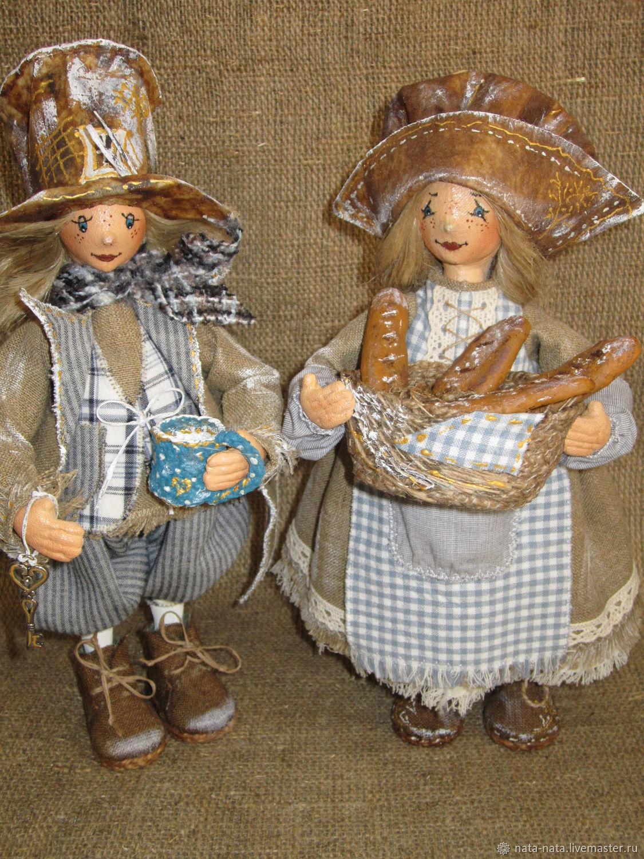 boudoir doll: Fairy ' hostess and the dwarf Timofey', Boudoir doll, Chrysostom,  Фото №1