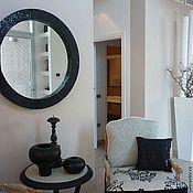 Для дома и интерьера handmade. Livemaster - original item Mirror in mosaic frame, black pearl. Handmade.