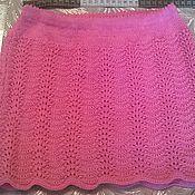 """Одежда ручной работы. Ярмарка Мастеров - ручная работа Юбочка для девочки """"Розовые волны"""". Handmade."""
