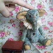 """Куклы и игрушки ручной работы. Ярмарка Мастеров - ручная работа Слоняшка """"Мартин"""". Handmade."""
