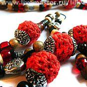 Украшения handmade. Livemaster - original item Beads long