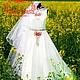 """Платья ручной работы. Ярмарка Мастеров - ручная работа. Купить Платье """"Лидия"""". Handmade. Белый, свадебное платье длинное"""